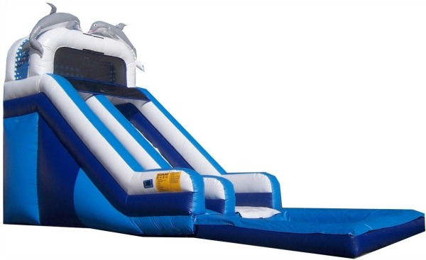 16' Dolphin High Tide Waterslide